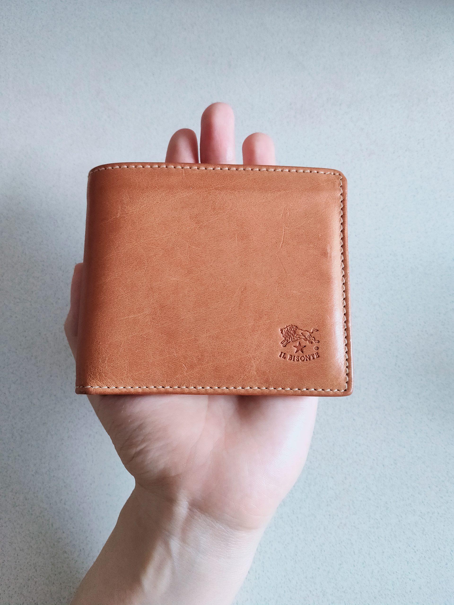 【ミニマリストおすすめ】イルビゾンテ二つ折り財布は最高です【レビュー】